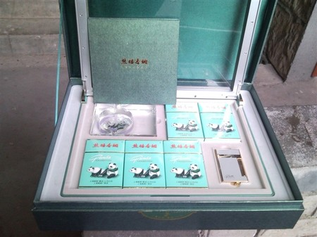 熊猫香烟价格 熊猫香烟价格表图 高清图片